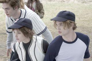 Twilight baseball game