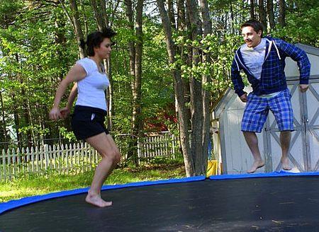 Meg and Zack on tramp 2 UTO
