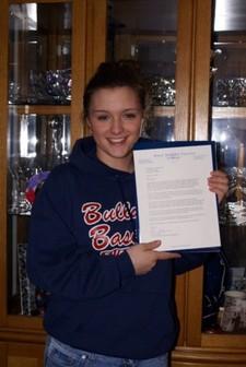 Meg_with_acceptance_letter